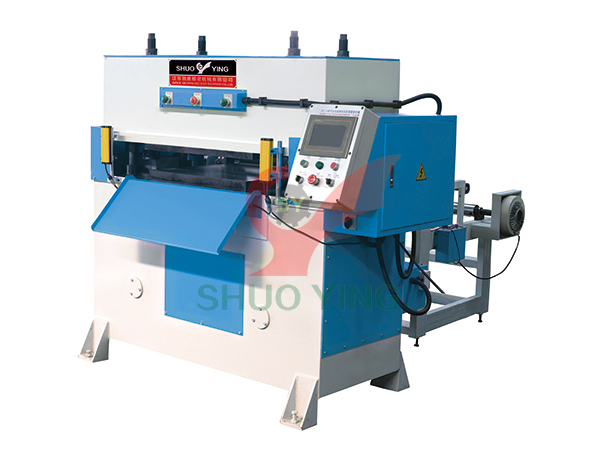 Half-cut hydraulic die cutting machine