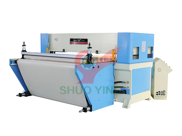 Conveyor belt hydraulic cutting machine