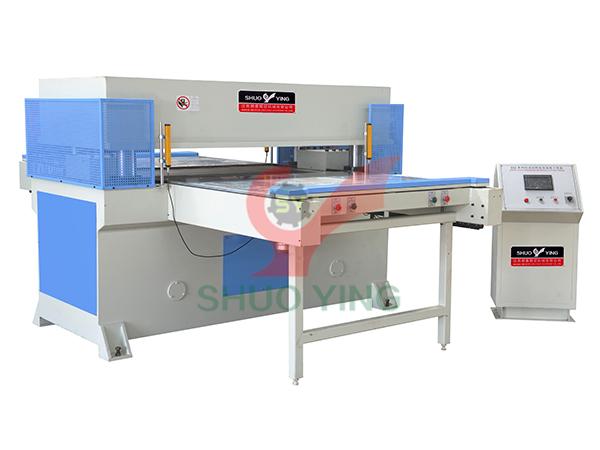 Double side feeding precision four column hydraulic plane blanking machine