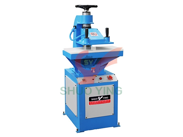 10T hydraulic swing arm cutting machine