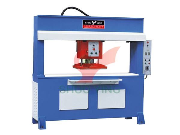 Hydraulic traveling head cutting machine