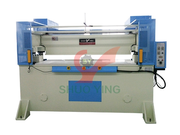 Receding head precision four-column hydraulic plane cutting machine