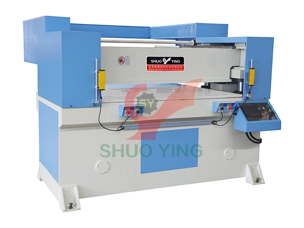 Automatic receding head precision four-column hydraulic plane cutting machine