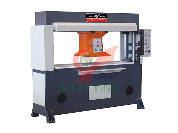 Precision four column hydraulic gantry cutting machine