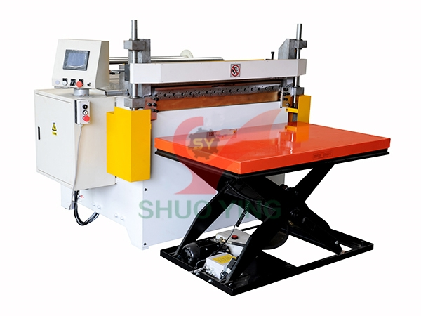 High-speed slicing machine for pp film textile