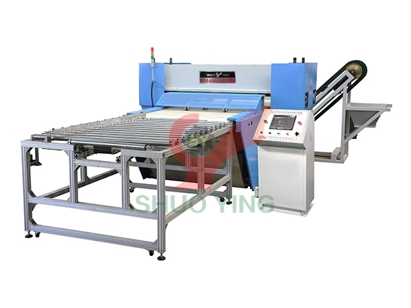 Automatic production line for PVC LVT  SPC WPC sheet material