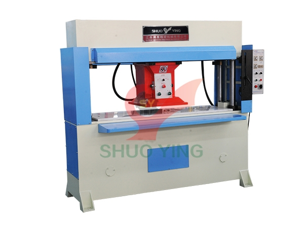 Precision four column hydraulic traveling head cutting machine